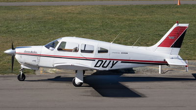 ZK-DUY - Piper PA-28R-200 Cherokee Arrow II - Aero Club - Canterbury