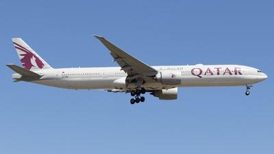 A7-BED - Boeing 777-3DZER - Qatar Airways