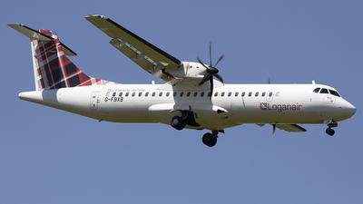A picture of GFBXB - ATR 72600 - Loganair - © Sam Randles
