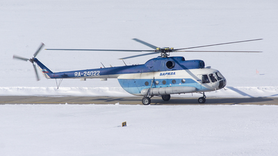 RA-24022 - Mil Mi-8T Hip - Barkol
