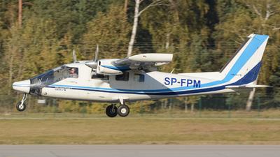 A picture of SPFPM - Partenavia P.68 Observer 2 - [42020/OB2] - © Krzysztof Krysiak
