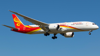 A picture of B207U - Boeing 7879 Dreamliner - Hainan Airlines - © Aircraft carrier FX