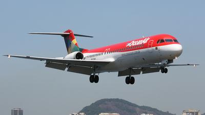 PR-OAR - Fokker 100 - OceanAir