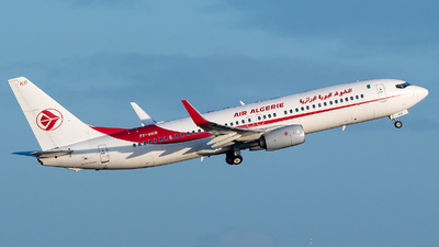 A picture of 7TVKR - Boeing 7378D6 - Air Algerie - © Philippe CHASTAGNOL