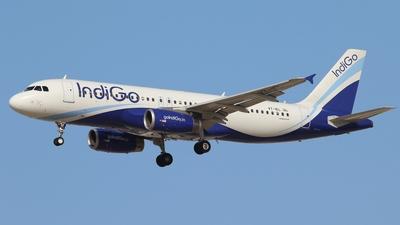 VT-IEL - Airbus A320-232 - IndiGo Airlines