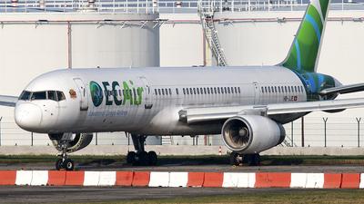 A picture of HBJJE - Boeing 757204 - [27219] - © Matthias
