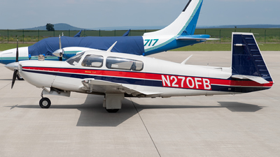 A picture of N270FB - Mooney M20M - [270030] - © Arne P.