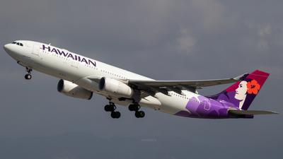N384HA - Airbus A330-243 - Hawaiian Airlines - Flightradar24