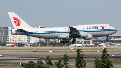 B-2485 - Boeing 747-89L - Air China