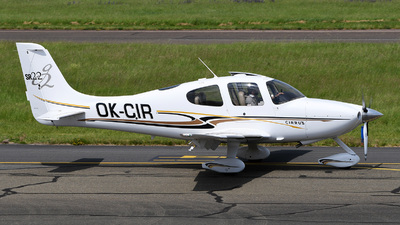 A picture of OKCIR - Cirrus SR22GTS - [1230] - © bruno muthelet