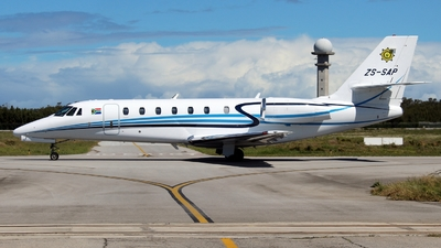 ZS-SAP - Cessna 680 Citation Sovereign - South Africa - Police