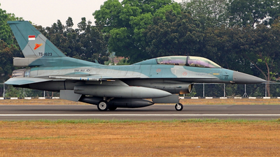 TS-1623 - Lockheed Martin F-16D Fighting Falcon - Indonesia - Air Force