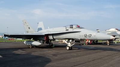 C.15-59 - McDonnell Douglas EF-18M Hornet - Spain - Air Force
