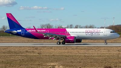 D-AVZU - Airbus A321-271NX - Wizz Air UK