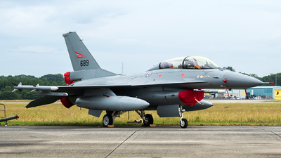 689 - General Dynamics F-16BM Fighting Falcon - Norway - Air Force