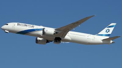 A picture of 4XEDL - Boeing 7879 Dreamliner - El Al - © ikeharel