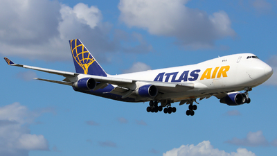 A picture of N489MC - Boeing 747412F - Atlas Air - © Xiamen Air 849 Heavy