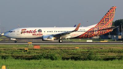 9M-LCR - Boeing 737-8GP - Batik Air Malaysia