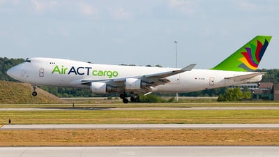TC-ACM - Boeing 747-428ERF - ACT Airlines