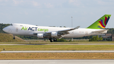 A picture of TCACM - Boeing 747428F(ER) - AirACT - © Lima Delta Sierra