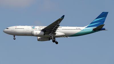 PK-GPL - Airbus A330-243 - Garuda Indonesia