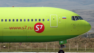 VQ-BBI - Boeing 767-328(ER) - S7 Airlines