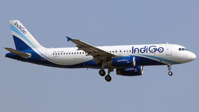 A picture of VTIFE - Airbus A320232 - IndiGo - © Aneesh Bapaye