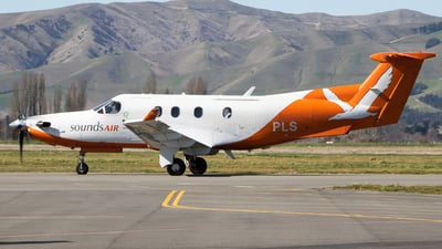 ZK-PLS - Pilatus PC-12/45 - Sounds Air