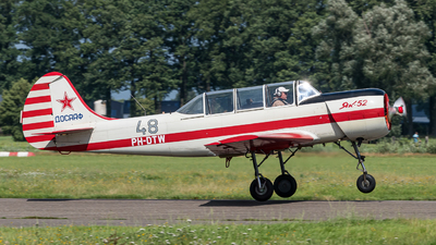 PH-DTW - Yakovlev Yak-52 - Private
