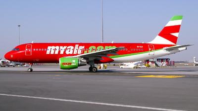 EI-DJI - Airbus A320-214 - MyAir