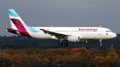 D-ABHG - Airbus A320-214 - Eurowings