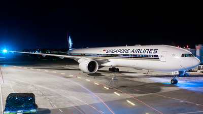 9V-SNA - Boeing 777-312(ER) - Singapore Airlines - Flightradar24