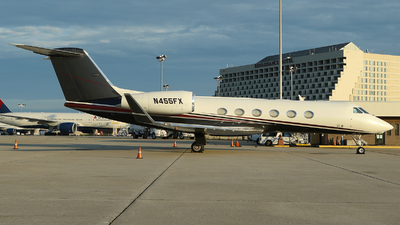 N455FX - Gulfstream G450 - Flight Options