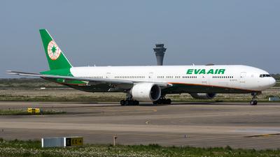 B-16733 - Boeing 777-3SHER - Eva Air