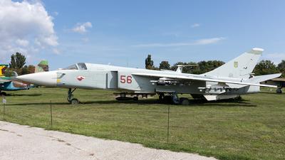 56 - Sukhoi Su-24M2 Fencer - Ukraine - Air Force