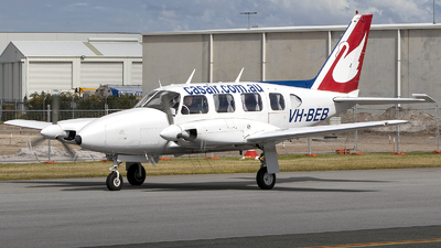 VH-BEB - Piper PA-31 Turbo Navajo - Casair