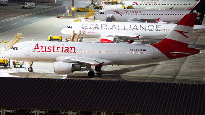 A picture of OELBX - Airbus A320214 - Austrian Airlines - © Marcel Rudolf