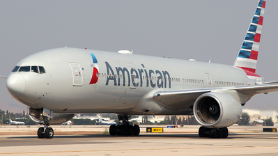 A picture of N758AN - Boeing 777223(ER) - American Airlines - © Rami Mizrahi