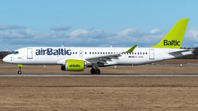 A picture of YLAAQ - Airbus A220300 - Air Baltic - © marfi80