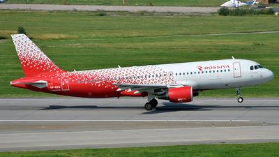 VP-BZQ - Airbus A320-214 - Rossiya Airlines