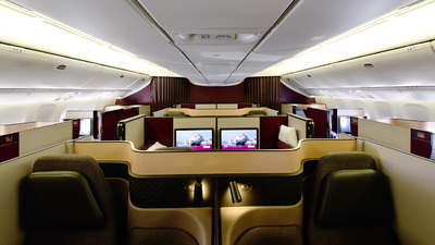 A7-BEX - Boeing 777-3DZER - Qatar Airways