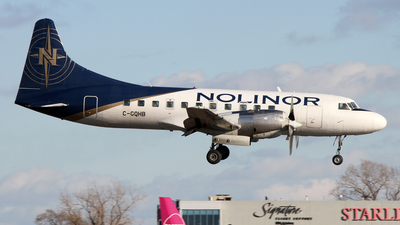 C-GQHB - Convair CV-580 - Nolinor Aviation