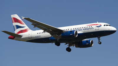 G-EUOG - Airbus A319-131 - British Airways