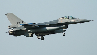 J-627 - General Dynamics F-16AM Fighting Falcon - Netherlands - Royal Air Force