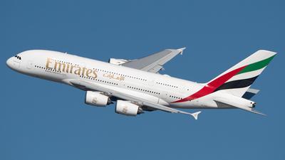 A6-EUG - Airbus A380-861 - Emirates