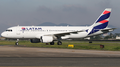 PR-MYW - Airbus A320-214 - LATAM Airlines