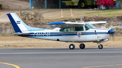 FAH-241 - Cessna T210M Turbo Centurion II - Honduras - Air Force