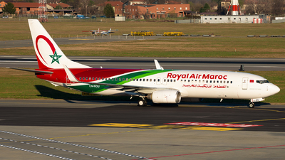 A picture of CNROU - Boeing 7378B6 - Royal Air Maroc - © Alessandro Maggia