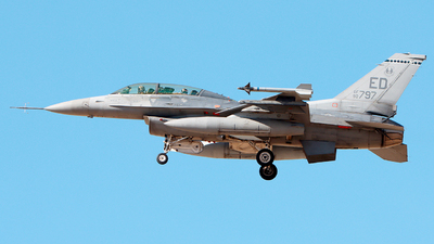 90-0797 - General Dynamics F-16D Fighting Falcon - United States - US Air Force (USAF)