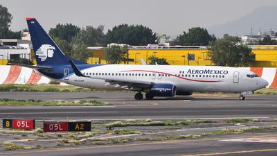 N858AM - Boeing 737-8Q8 - Aeroméxico